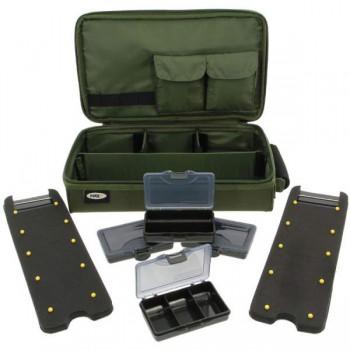 Batohy, tašky, pouzdra, vozíky - NGT - Pouzdro na Návazce Complete Carp Rig System