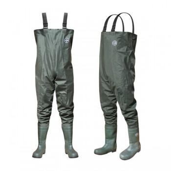 Brodící kalhoty, prsačky, holínky, obuv - DELPHIN - Prsačky River