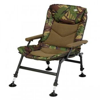 Křesla, lehátka, židličky - GIANTS FISHING - Rybářská sedačka Compact Fleece Camo Chair