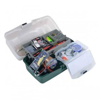 Krabičky, kufry, kbelíky, řízkovnice - SPORTS - Rybářský kufřík MAXI II výbava pro každého