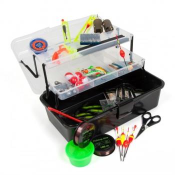 Krabičky, kufry, kbelíky, řízkovnice - SPORTS - Rybářský kufřík + MAXI výbava pro každého