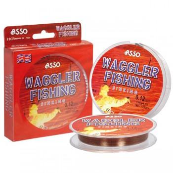 Vlasce, šňůry, návazce - ASSO - Vlasec Waggler Fishing 150m