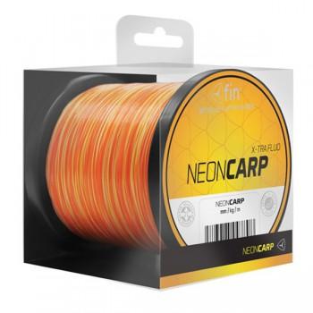 Vlasce, šňůry, návazce - FIN - Vlasec Neon Carp Žluto-oranžový