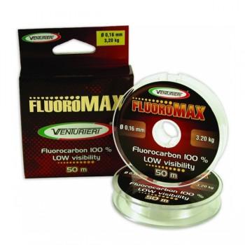 Vlasce, šňůry, návazce - VENTURIERI - Vlasec Fluorocarbon Fluoro max 50m