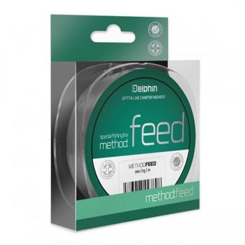 Vlasce, šňůry, návazce - DELPHIN - Vlasec na feeder Method Feed šedý 300m