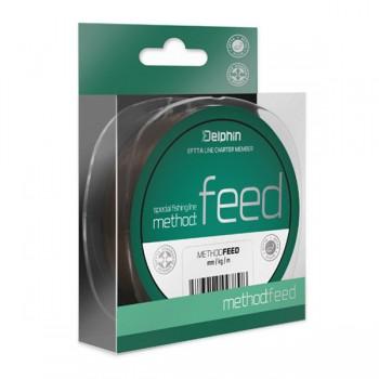 Vlasce, šňůry, návazce - DELPHIN - Vlasec na feeder Method Feed hnědý 300m
