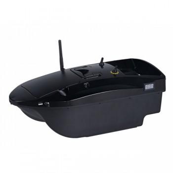 Čluny, elektromotory, loďky - DEVICT - Zakrmovací loď Tanker Mono černá + Boilies ZDARMA!