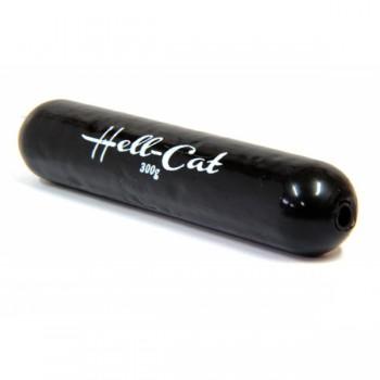 Háčky, krmítka, zátěže - HELL-CAT - Zátěž doutníková černá