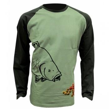 Oblečení, obuv, doplňky - ZFISH - Tričko Boilie T-Shirt Long Sleeve