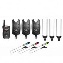 DELPHIN - Sada signalizátorů Roler 9V set 3+1+ 3x Swinger + 3x Snag Ears