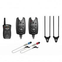 DELPHIN - Sada signalizátorů Roler 9V set 2+1 + 2x Swinger + 2x Snag Ears