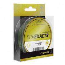 FIN - Pletená šňůra Exact8 Zelená