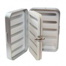 RICHARD WHEATLEY - Krabička Foam stříbrná/hliník se středovým panelem