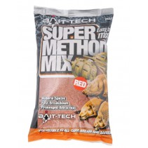 BAIT-TECH -  Super Method Mix Red 2kg