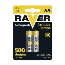 RAVER - Nabíjecí baterie 1,2V AA  2ks