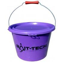 BAIT-TECH - Groundbait Bucket - Purple