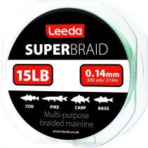LEEDA - Splétaná šňůra Super Braid