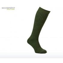 SILVERPOINT OUTDOOR - Ponožky All Season Long Hiker zelená