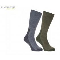 SILVERPOINT OUTDOOR - Ponožky pánské Merino Wool All Terrain Hiker 2 páry