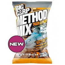 BAIT-TECH - Big Carp Method Mix Tiger & Peanut 2kg
