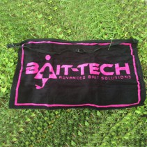 BAIT-TECH - Apron Towel - Black and Pink