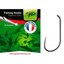 GIANTS FISHING - Háček muškařský Dry Fly Barbless 10ks