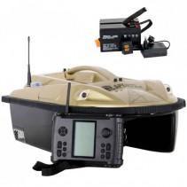 SPORTS - Zavážecí loďka PRISMA 5 + 4x Baterie + Sonar + GPS + Boilies ZDARMA!