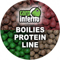 CARP INFERNO - Boilies Protein Line 1kg 25mm