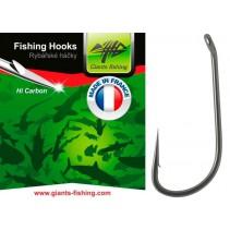 GIANTS FISHING - Háček s očkem Straight Shank 10ks vel.4