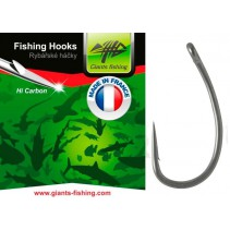 GIANTS FISHING - Háček s očkem Medium Curve Shank 10ks