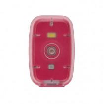 SILVERPOIT OUTDOOR - Světelný klip Light růžový