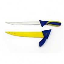 ALBASTAR - Filetovací nůž 20cm modro-žlutý