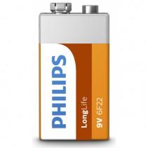 PHILIPS - Baterie 9V LongLife 1ks