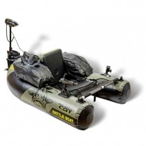 BLACK CAT - Battle Bellyboat + Elektromotor BC 2400