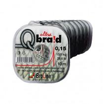 BROLINE - Pletená návazcová šňůra Q ultra braid 6x