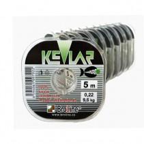 BROLINE - Pletená potápivá šňůra 100% Kevlar 5m