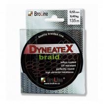BROLINE - Šňůra DYNEATEX Braid Zelená 135m