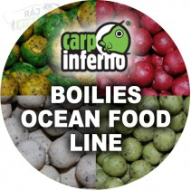 CARP INFERNO - Boilies Ocean Food Line 1kg 25mm