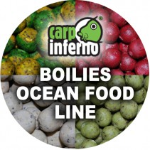 CARP INFERNO - Boilies Ocean Food Line 1kg 20mm