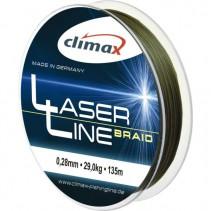CLIMAX - Šňůra Laser Braid Olive SB 6 vláken 135m