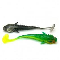 CRAZY FISH - Umělá nástraha Nano Minnow 4cm 8ks