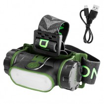 DELPHIN - Čelová lampa USB Xenon