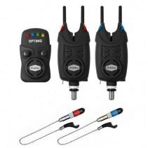 DELPHIN - Sada Signalizátorů 2+1 OPTIMO 9V + 2x Indikátor + 2x Snag Gear