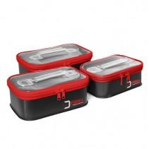 DELPHIN - Sada tří plastových taštiček EVAREA Set