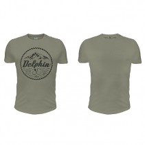 DELPHIN - Tričko 2004 Tmavě zelené