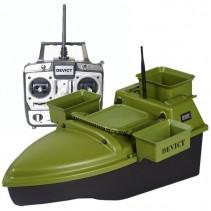 DEVICT - Zakrmovací loď Tanker Triple zelená + Boilies ZDARMA!