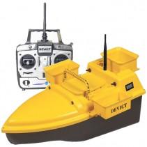 DEVICT - Zakrmovací loď Tanker Triple žlutá + Boilies ZDARMA!