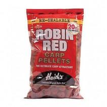 DYNAMITE BAITS - Předvrtané pelety Robin Red 20mm 900g