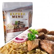 EXPRES MENU - Krůta se zelím (vhodné pro SCD dietu) - 2 porce (600g)