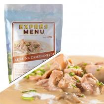 EXPRES MENU - Kuře na žampionech - 1 porce